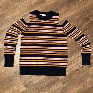 Loft peekaboo shoulder sweater